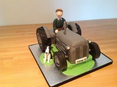 70 year old birthday tractor cake ideas - Google Search