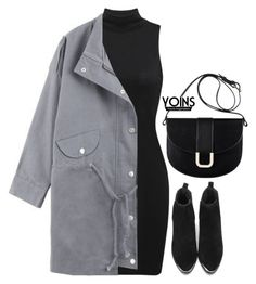 """""""Yoins 6.7"""" by emilypondng ❤ liked on Polyvore featuring A.P.C., yoins, yoinscollection and loveyoins"""