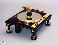 Teragaki turntable