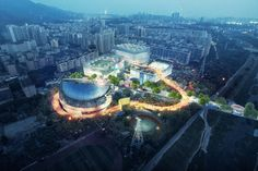 Gallery of MVRDV + Zhubo Studio Win Competition for New Sports and Cultural Center in Shenzhen - 3