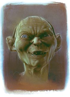 Old work of Gollum
