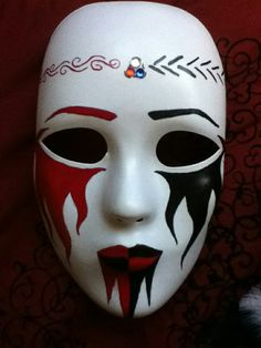 Elegant Masquerade Mask, Venetian Masquerade Masks, Creepy Masks, Cool Masks, Creepy Carnival, Carnival Masks, Scary Face Paint, Mask Girl, Scary Faces