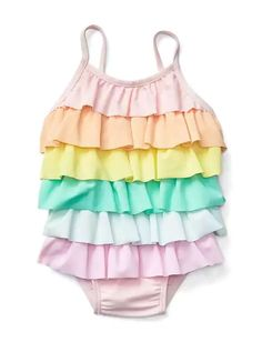 Swimsuits for kids - click through for the best kids swimwear picks (including some affordable kids swimsuits!)