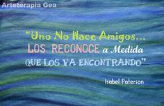 Arteterapia Gea: Amigos...