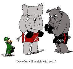 SEC vs Notre Dame Cartoon by Davis Jaye (Pinned from SaturdayDownSouth.com)