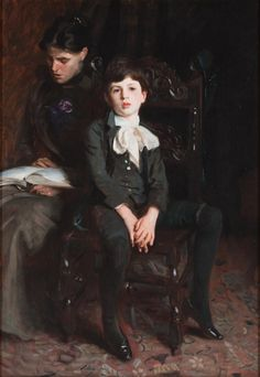 John Singer Sargent - Portrait of a boy - 1890