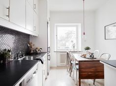 Concrete chandelier decorating ideas kitchen Decorate dining glass metal leather chairs bar stools bar counter marble