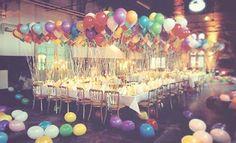 Ideas de Decoración con Globos para cualquier Evento y Fiesta : Casas Decoracion