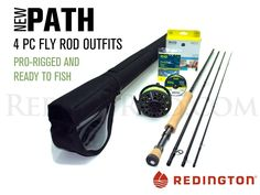 Redington Path 990-4 Saltwater Fly Rod Outfit (9'0', 9wt, 4pc) *** Check this awesome product by going to the link at the image.
