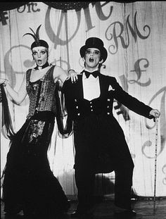 Liza Minelli and Joel Grey in Cabaret
