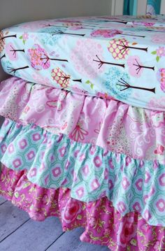 Caden Lane Enchanted Forest Bumper-less Crib Bedding at DadaBabyBoutique.com