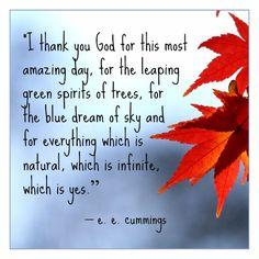 A Few Famous Words of Gratitude