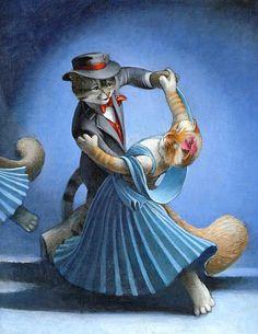 Танцующие кошки. Комментарии : LiveInternet - Российский Сервис Онлайн-Дневников