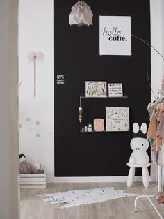 "Check out this creative and fun toddler girls' bedroom.This space is filled with well-chosen pieces that avoid the ""catalog look"". Get inspired!"