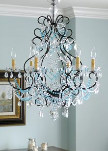 @Adrianne Davis Johnson - I like the idea of using a few colors for bling. The blue and white combo is cute in this pic. Could also be cute to paint the light blue and add pink/white bling.