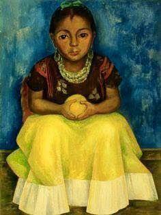 opera di Diego Rivera, Bambina di Tehuantepec