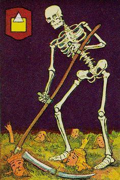 Death - Knapp-Hall Tarot  by J. A. Knapp