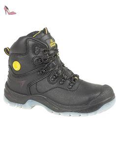 Male - Amblers Steel FS198 Safety Boot Black Size UK 4 EU 37 US 4.5 -