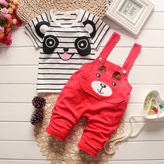 BibiCola summer children clothes baby boys girls clothing sets cartoon suits kids autumn underwear short t shirt+ Bib pants-in Clothing Sets from Mother & Kids on Aliexpress.com   Alibaba Group