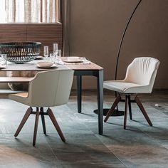 Cattelan Italia/Tyler Swivelling Chair #modernfurniture #designfurniture #italy #milano #istanbul