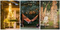 18 Dreamy Ways to Use String Lights In Your Backyardcountryliving