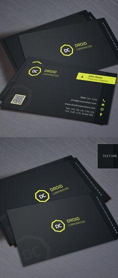 Designers Business Card PSD Templates - 5 #businesscards #psdtemplates #businesscarddesign #premiumbusinesscards