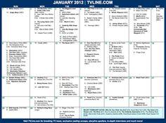 January premiers