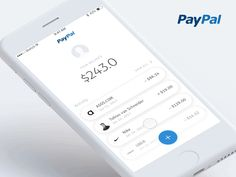Paypal Mobile App Sending Money UI/UX