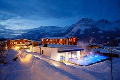 5 mal Ski Hotel mit Outdoor Pool - The Chill Report Boutique Hotels, Wilder Kaiser, Infinity Pool, Tyrol Austria, Parents Room, Ski Holidays, Hotel Spa, Outdoor Pool, 6 Years