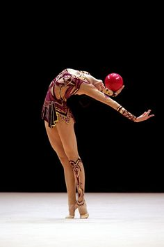 Anna Bessonova of Ukraine won Gold, Silver and Bronze 2005 at the World Games