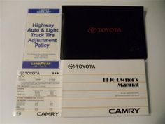 2003 toyota camry solara owners manual book guide owners manuals 1996 toyota camry owners manual book set fandeluxe Images