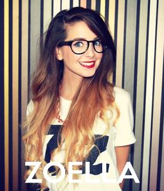 Love the length of her ombre hair x Zoella Hair, Zoella Beauty, Hair Beauty, Michelle Phan, Lena Dunham, Amy Poehler, Leandra Medine, Saturday Night Live, Parks And Recreation