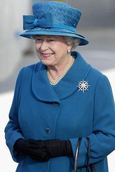 Queen Elizabeth II - Queen Elizabeth Names New Cunard Vessel - Ceremony