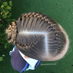 This is a replica of a style I did when I first started my Pretty Little Braids account. I loved it then and I still love it now!   #cghphotofeature #industriebeauty #melbournehairstylist #melbournehairdresser #braid #braids #hairinspiration #cutegirlshairstyles #instabraid #instahair #modernsalon #hairdressermagic #pretty #dutchbraid #artistssupportingartists #braidingmommies #frenchbraid #behindthechair #americansalon #peinados