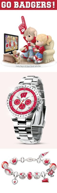 Rooting for your playoffs pick is easy with these Wisconsin Badgers collectibles and jewelry. Show your support now!