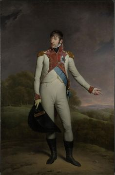 Portrait of Louis Napoleon #Bonaparte, King of Holland (1806 to 1810)