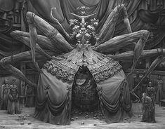 """Check out new work #character  on my @Behance portfolio: """"Spider - Reaper"""" http://be.net/gallery/61129523/Spider-Reaper"""