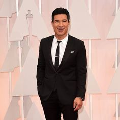 Mario Lopez from 2015 Oscars: Red Carpet Arrivals