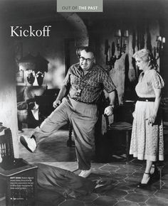 Robert Aldrich shows Bette Davis how to kick Joan Crawford in a scene on the set of What Ever Happened to Baby Jane? (1962).