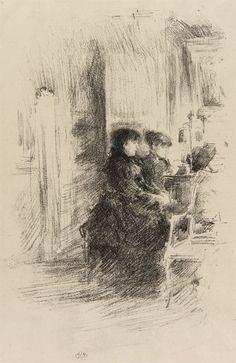 fourteenth:  James McNeill Whistler (1834–1903)
