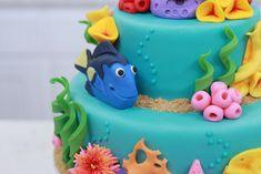 Finding Nemo Cake - Dory