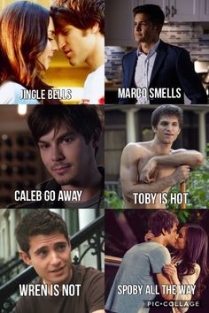 Funny couple quotes little liars ideas Pretty Little Liars Meme, Preety Little Liars, Pll Quotes, Pll Memes, Life Quotes, Spencer And Toby, Funny Quotes About Life, Funny Life, Funny Couples