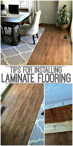 These three tips for installing laminate flooring with save you lots of time and frustration!