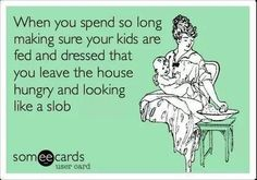 Every single morning I look like a cross between Cruella Devil and a home… - Humor quotes Parenting Memes, Kids And Parenting, Mommy Quotes, Funny Quotes, Humor Quotes, Life Quotes, Mommy Humor, E Cards, Story Of My Life
