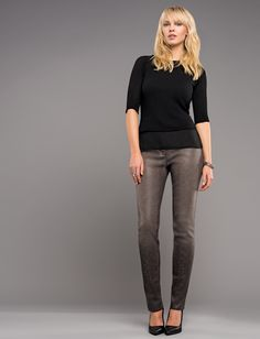 Stylish, coated jeans from our Robell Autumn/Winter 2015 collection