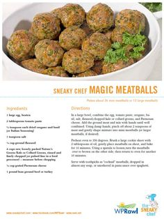 #Sneaky Chef, #nature's greens, #WP Rawl, greens recipes, vegetables