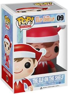 Funko POP! Vinyl Figure The Elf on the Shelf New!
