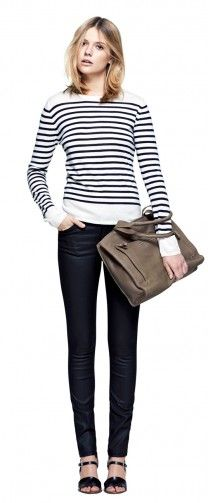 I'm having a hard time not pinning all of the Fillipa K Spring line.... Here are my favs Merino Stripe Pullover