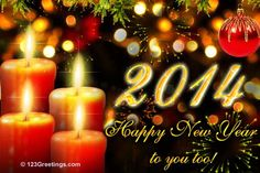 A happy new year e-card sent to me by my former co-worker Josiefil Egarta :)