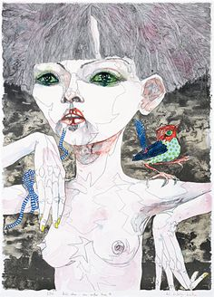 Art market auction sales from the to 2019 for 149 works by artist Del Kathryn Barton and values for over other Australian and New Zealand artists. Del Kathryn Barton, Australian Painting, Australian Artists, Portrait Art, Portrait Photo, Portraits, Portrait Paintings, Magazine Art, Figure Painting
